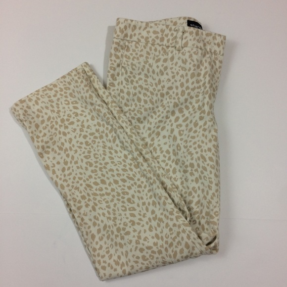 Sharagano Pants - Cheetah Print Pants CuTe!